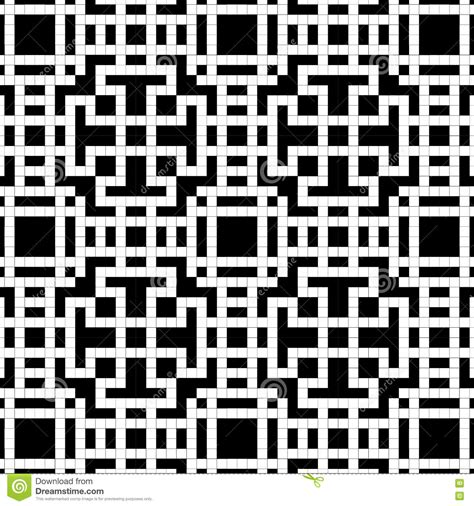 pattern of black and white squares crossword puzzle seamless pattern a grid a crossword puzzle from black