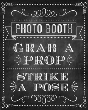 photo booth sign template free free printable photo booth props new year 2015 new