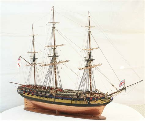 schip in fles bouwpakket the new frigate of the british empire pirate mocs
