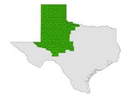 texas great plains map great plains regions of texas