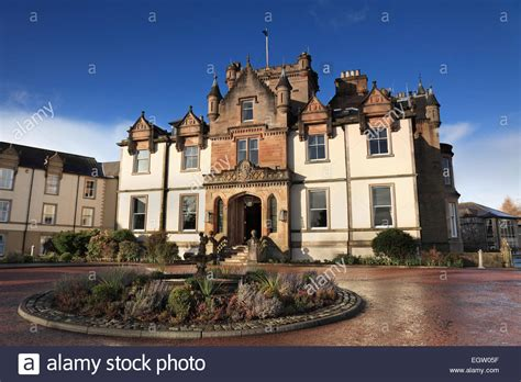 house cameron cameron house a five star hotel on the shores of loch lomond near stock photo