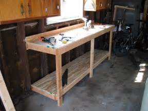 garage workbench designs garage workbench