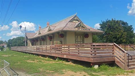 katy depot frontier park st charles parks and recreation
