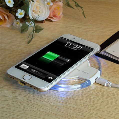 qi wireless charger pad receiver for iphone 6 6s 4 7 quot charging kit cable ebay