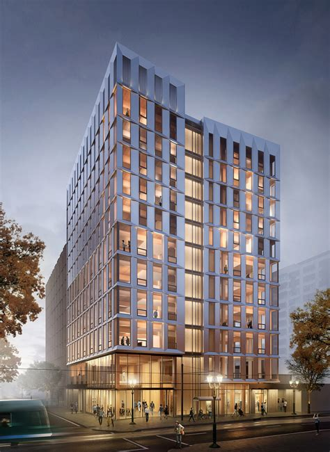 timber architecture the united states first mass timber highrise receives