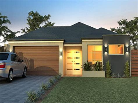 small modern single story house plans your home