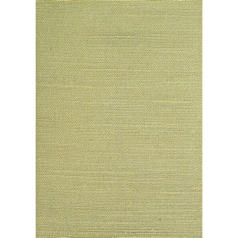 shop allen roth green grasscloth unpasted textured wallpaper at lowes