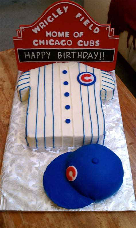birthday cake order chicago chicago cubs wrigley field birthday cake with cubs