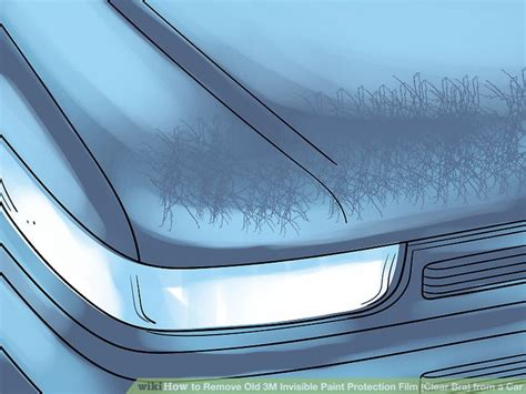 how to remove old 3m invisible paint protection film