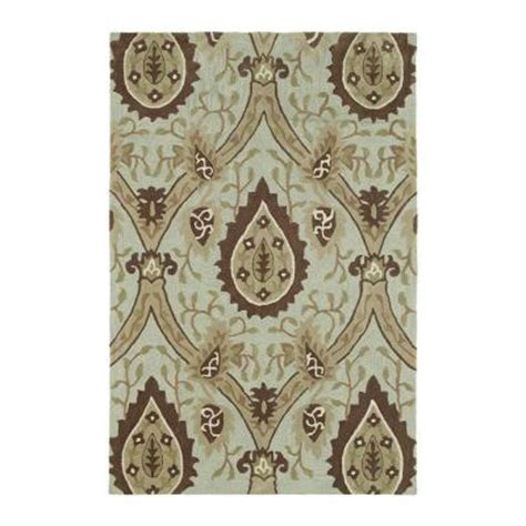 6x9 area rugs home depot kaleen crowne oberon spa 7 ft 6 in x 9 ft area rug 1705