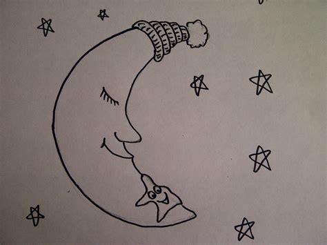 Leichte Sachen Zum Malen by Mond Und Sterne Zeichnen Zeichnen Lernen F 252 R Kinder Und