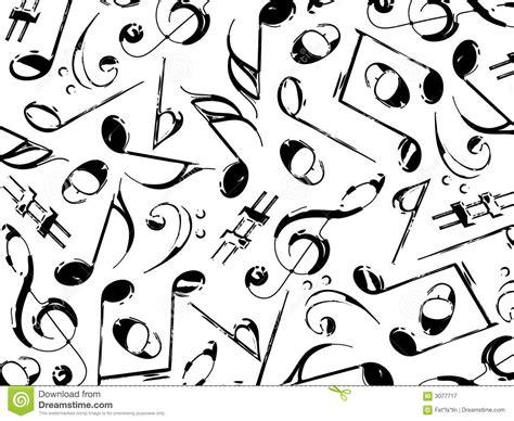 Imagenes En Blanco Y Negro De Notas Musicales   negro de las notas musicales en blanco