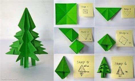 membuat pohon natal origami ini dia 5 ide kreatif membuat dekorasi natal dengan kertas