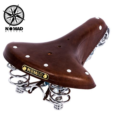 vintage bicycle seats for sale aliexpress buy nomad vintage bicycle seat genuine