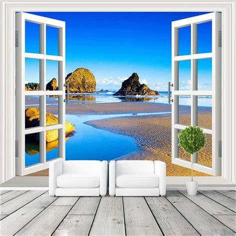 jendela foto wallpaper pemandangan alam wallpaper