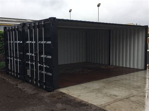 container als garage home containerhandel winters