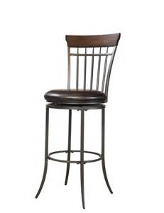 Swivel Bar Stools Backs Hillsdale Cameron Spindle Back Swivel Counter Height Stool
