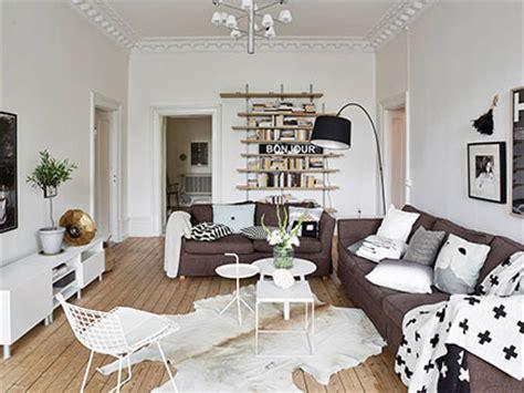 neue wohnzimmermöbel skandinavische wohnzimmer mit authentischen neue details