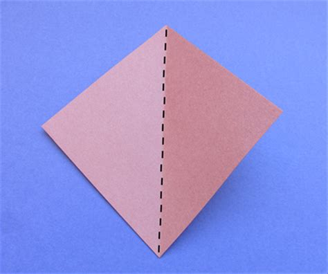 Paper Folded 42 Times - how to fold a pentagon from a square of paper