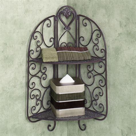 wrought iron bookcase designs wrought iron corner shelf ideas homesfeed