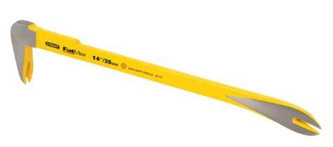 Stanley Molding Bar 10 Inch 55 117 stanley 55 123 fatmax claw bar 14 inch 076174551235