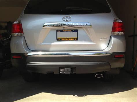 Tow Hitch For Toyota Highlander Oem Trailer Hitch 2012 Toyota Highlander