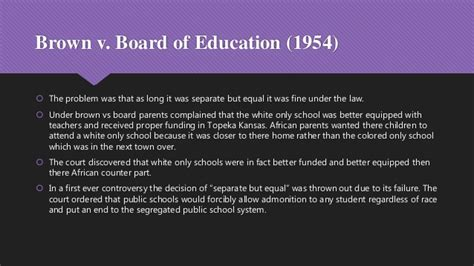 brown vs board of education research paper controversies and interpretations of civil rights