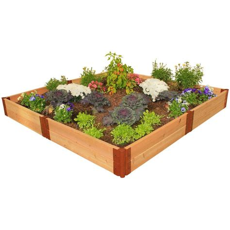home depot garden bed newtechwood raised garden beds garden center the