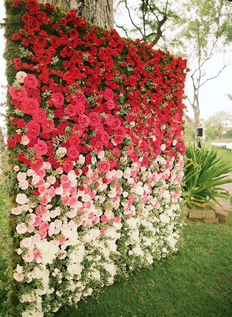 Wedding Backdrop Flowers by Gorgeous Floral Wedding Backdrops Mywedding