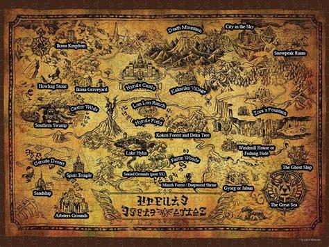 legend of zelda map key zelda hyrule map key i completed zelda