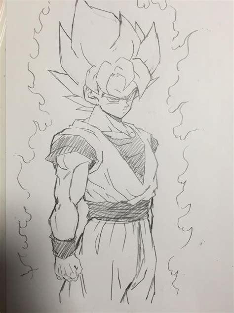 Z Drawings by Goku Sayanjin Goku And