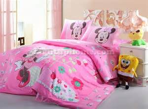 Pink gilrs minnie mouse bedding sets disney bedding kids bedding sets