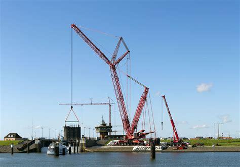 boom mobile liebherr lattice boom mobile crane hoists lock gates