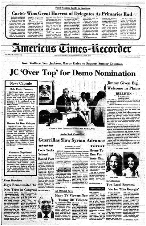 'A New Mood in America': Ga.'s Carter won '76 Democratic