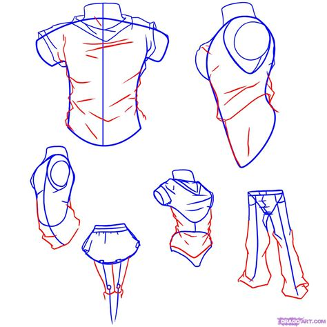 how to draw anime draw anime clothes step by step drawing sheets added by