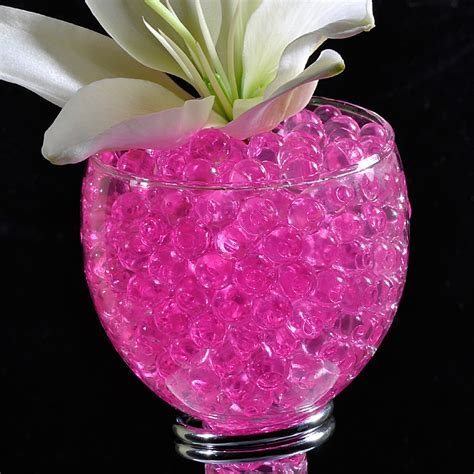 Illuminated Garden: Pink Gel Floral Water To Beads  10
