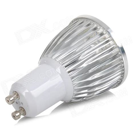 Ac 6400 Silver Grey gu10 5w 650lm 6500k 5 led white light dimmable l white silver grey ac 220v free