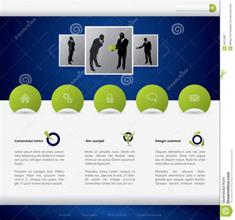 business template design business website template design royalty free stock