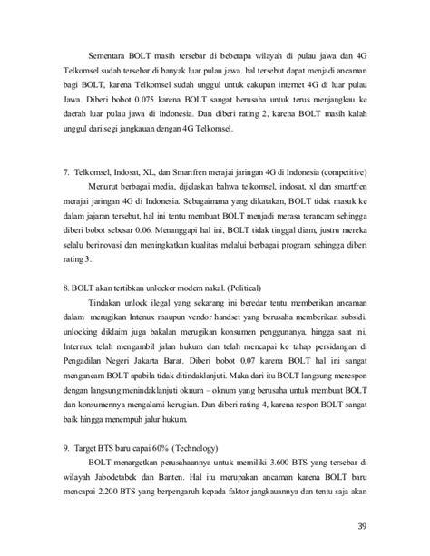 Modem Bolt Di Makassar analisis strategi perusahaan pada bolt