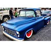 1955 Chevy Truck Blue  Cool Rides Pinterest Red White
