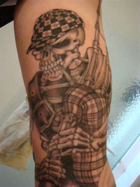 piper tattoo the gallery for gt skeleton piper