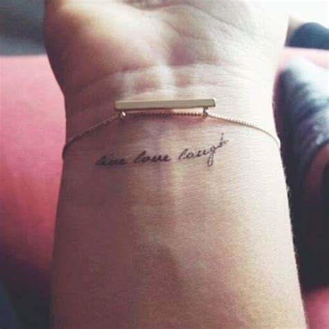 short arm tattoo quotes best 25 small quote tattoos ideas on pinterest tatto