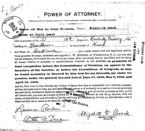 How To Sign A Document As Durable Power Of Attorney