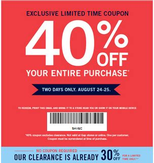 bed bath beyond in store coupon gap factory coupons 40 off 2017 promo codes autos post