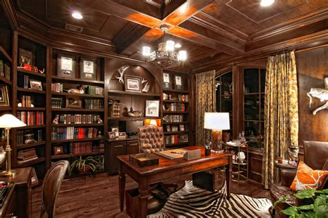 Store Room Design by Masculine Office Decor Gentleman S Gazette