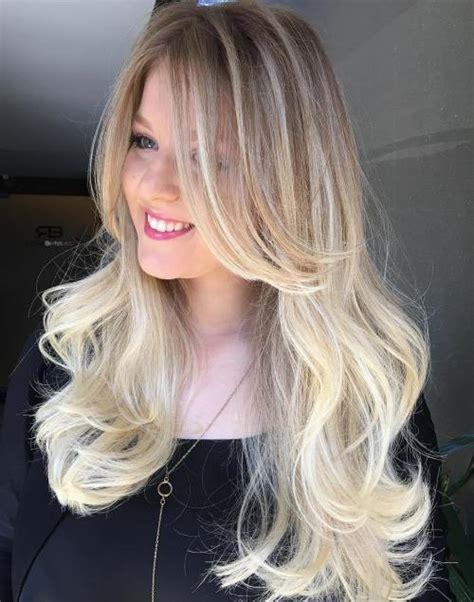 cute hairstyles blonde long hair 40 cute long blonde hairstyles for 2018