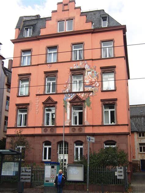 bemaltes haus frankfurt frankfurter fassaden im detail deutsches architektur forum