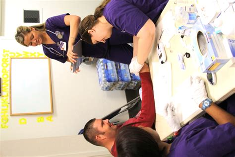 Background Check For Nursing Students Nursing Students Give Health Checks At Arch Gcu Today