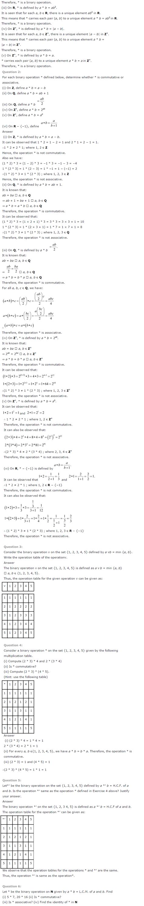 ncert solutions for class 12 maths chapter 1 relations