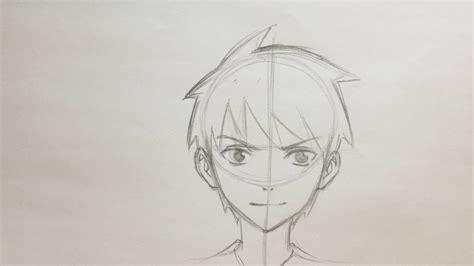 anime boy easy to draw how to draw anime boy no timelapse
